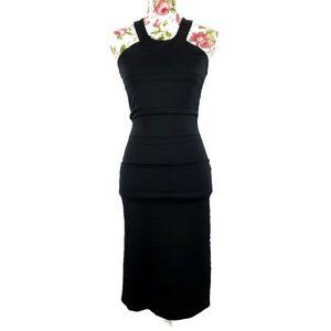 3/$35 BB Dakota Black Halter Sheath Dress X-Small